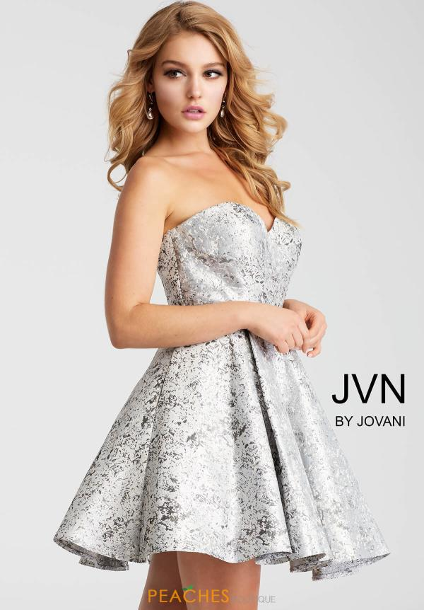 JVN by Jovani Strapless Dress JVN53203