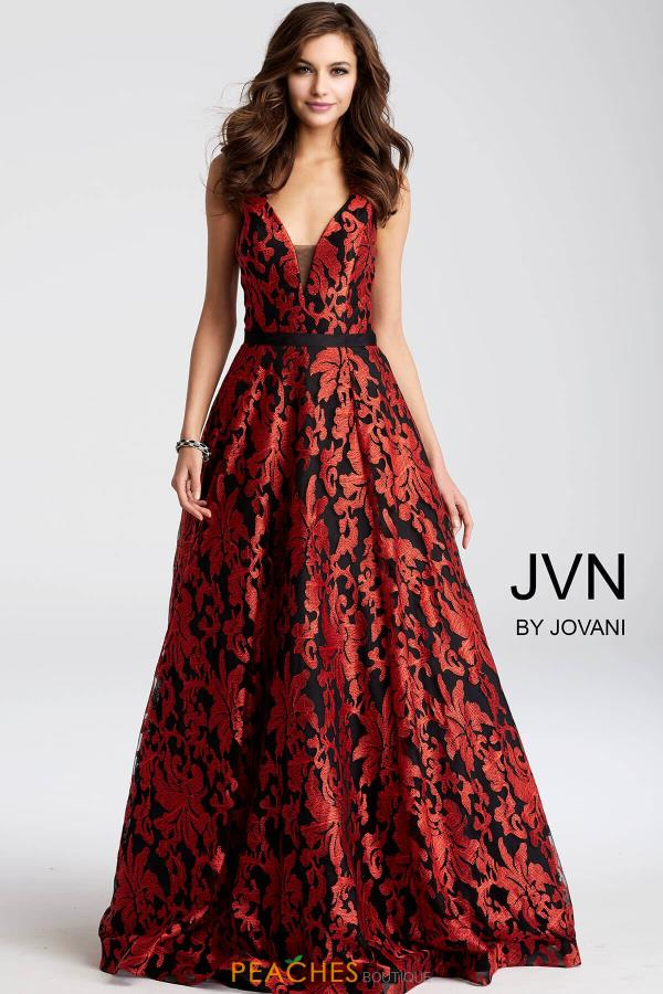 JVN by Jovani A Line Dress JVN53383