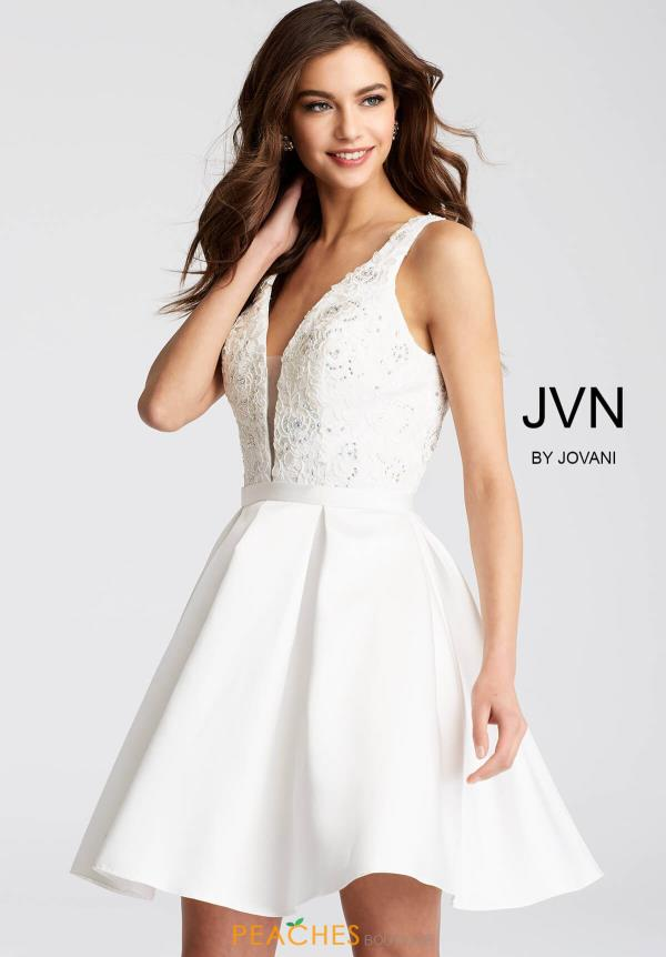 JVN by Jovani A Line Dress JVN53390