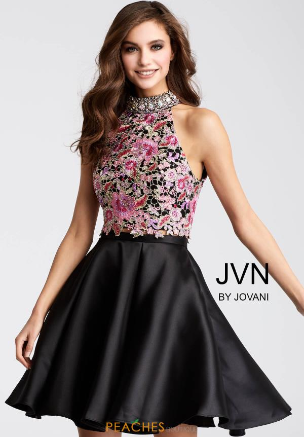 JVN by Jovani A Line Dress JVN54474