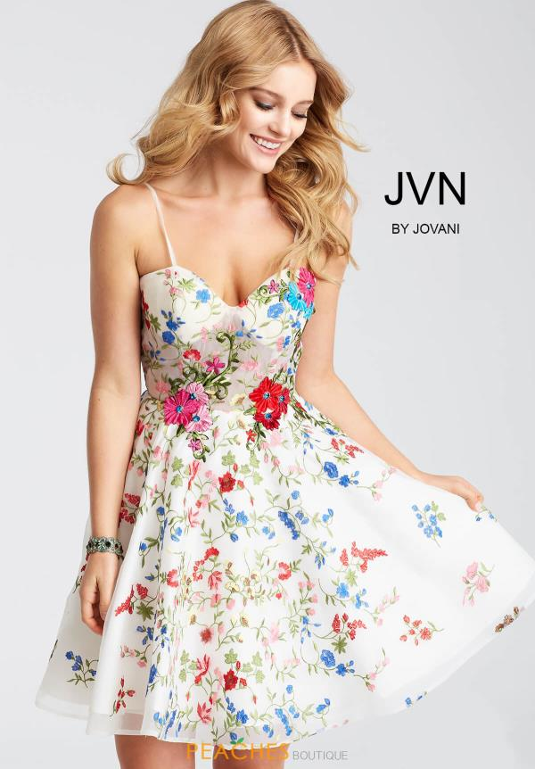 JVN by Jovani Print Dress JVN54557