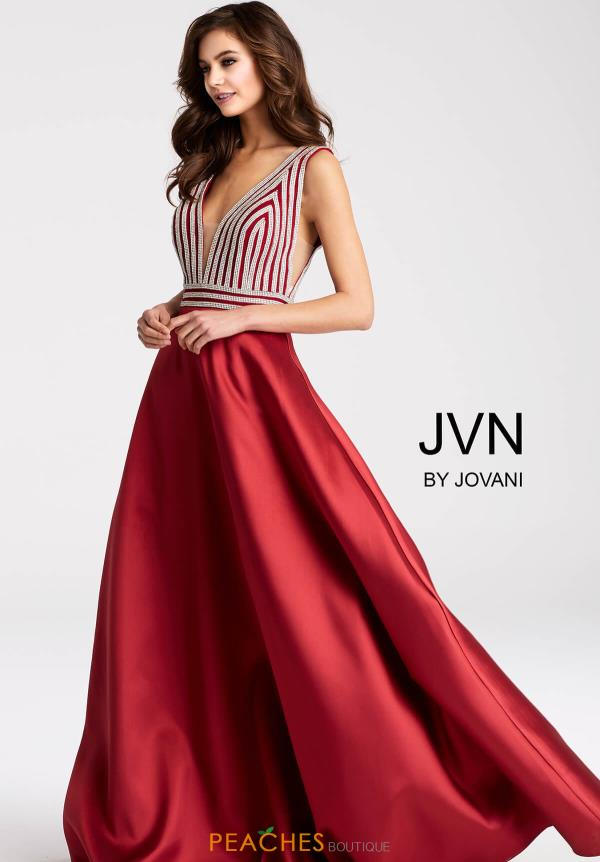 JVN by Jovani A Line Dress JVN54705