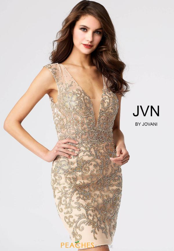 JVN by Jovani Fitted Dress JVN55145
