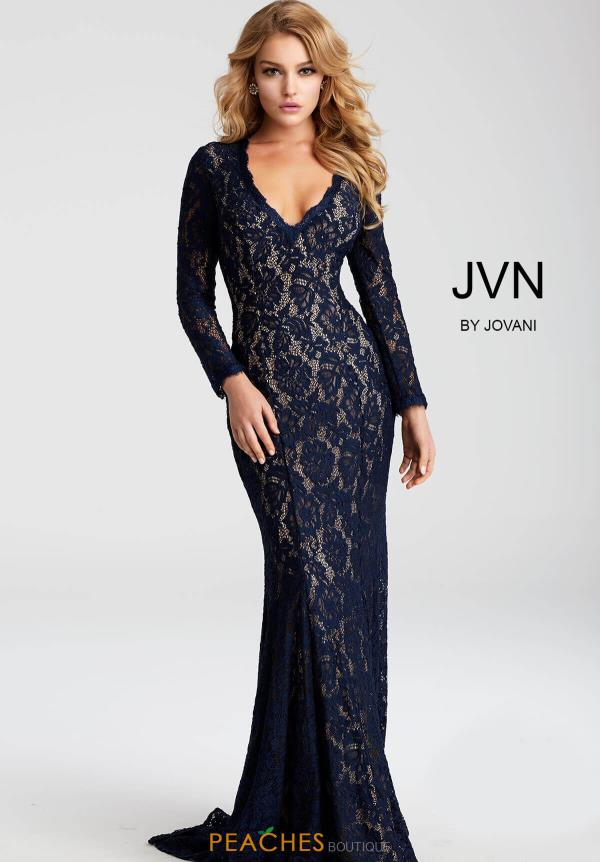 JVN by Jovani Sleeved Dress JVN55158