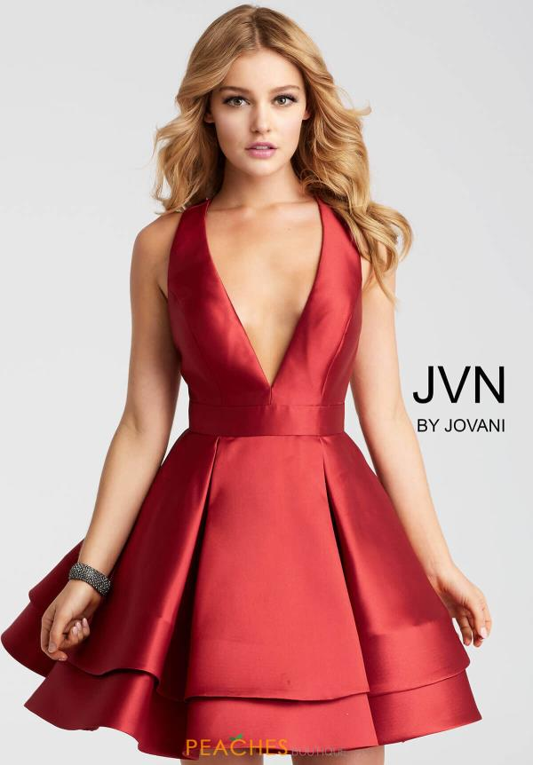 JVN by Jovani V- Neckline Dress JVN55413