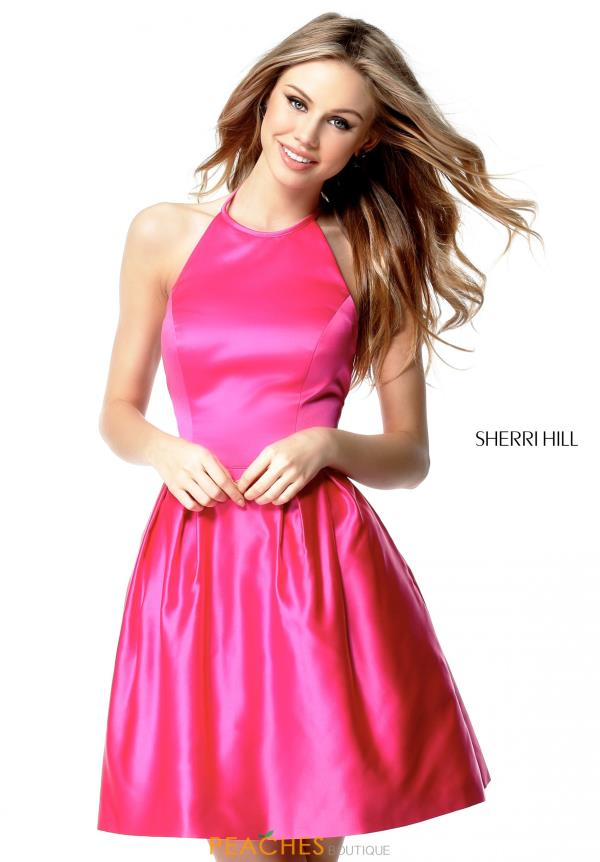 Sherri Hill Short High Dress 51273
