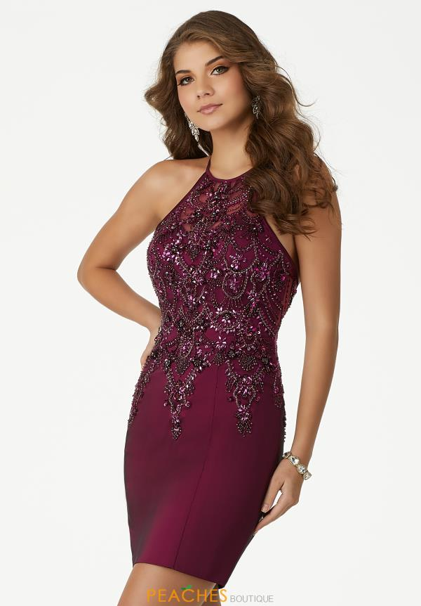 MoriLee Sticks & Stones Beaded Dress 33004