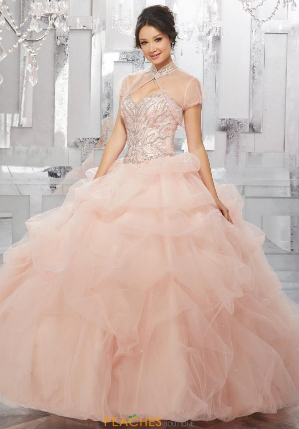 Vizcaya Quinceanera Ruffled Skirt Gown 60022