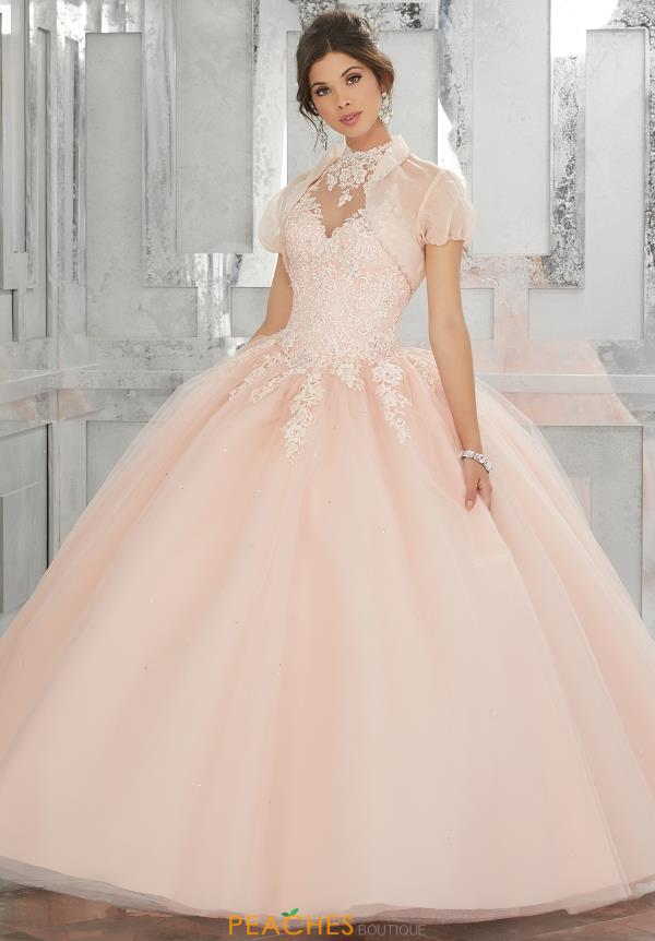 Vizcaya Quinceanera Tulle Skirt Dress 60023