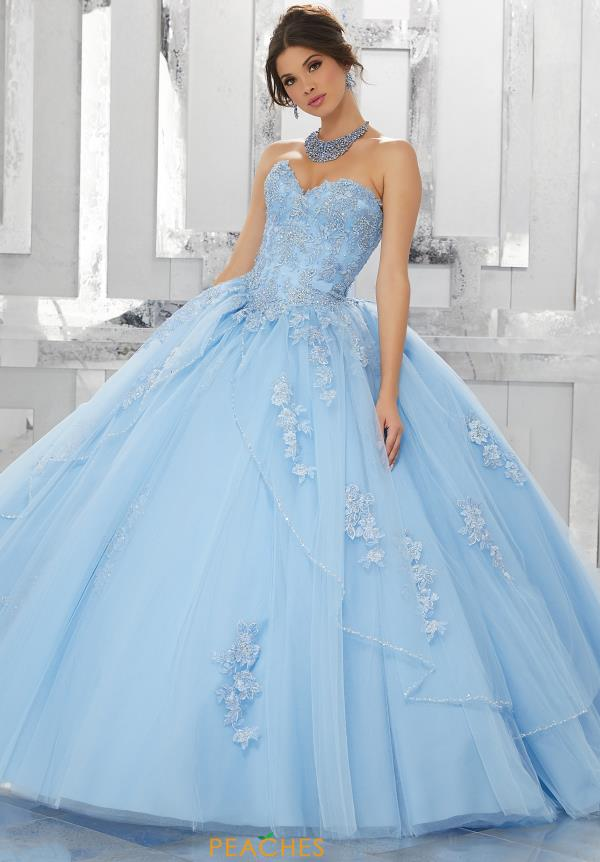 Vizcaya Quinceanera Sweetheart Neckline Ball Gown 60024