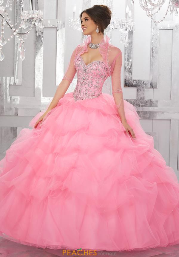Vizcaya Quinceanera Beaded Ball Gown 60025