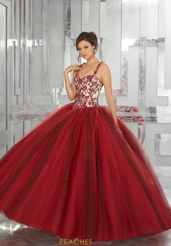 Vizcaya Quinceanera Tulle Skirt Ball Gown 60027