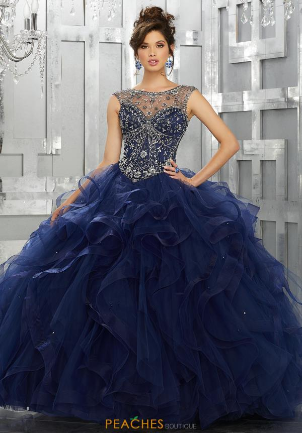 Vizcaya Quinceanera Beaded Ball Gown 89141