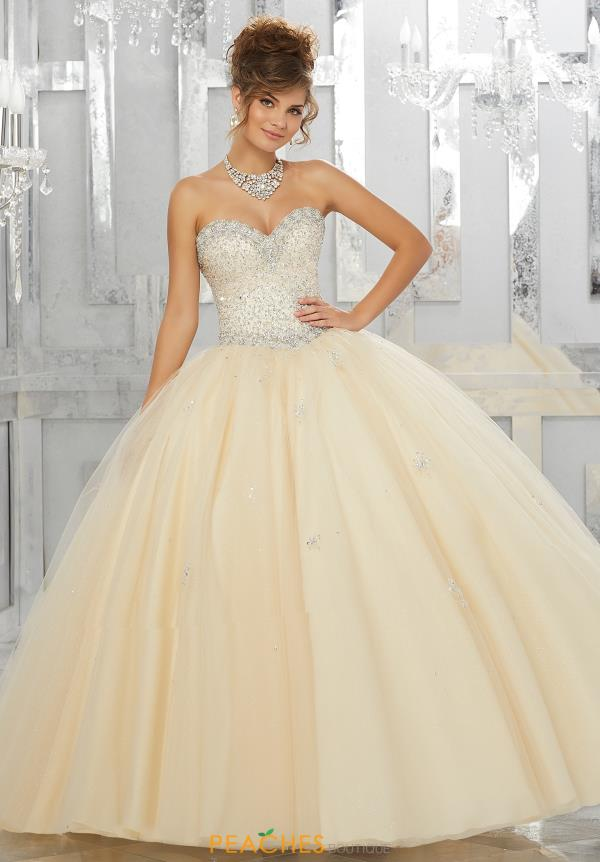 Vizcaya Quinceanera Beaded Gown 89143