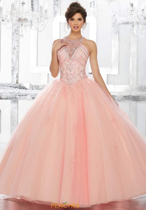 Vizcaya Quinceanera Tulle Skirt Gown 89145