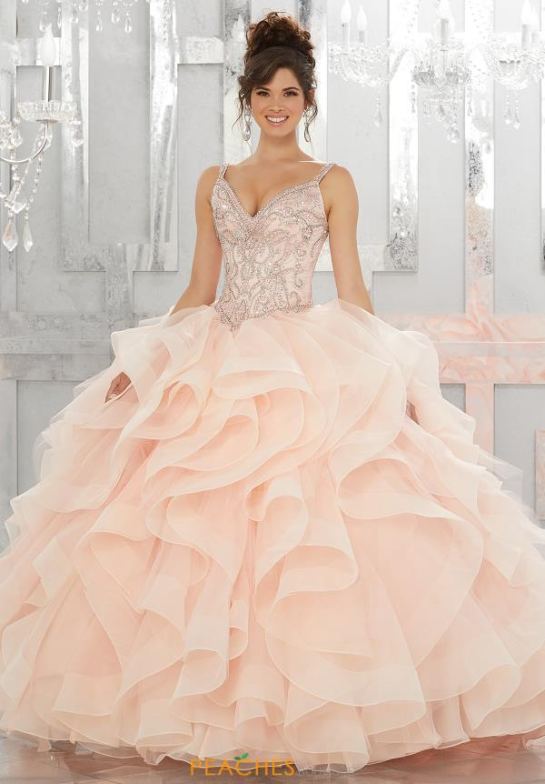 Vizcaya Quinceanera Lace Back Ball Gown 89148
