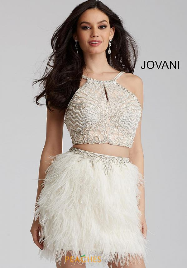 Jovani Cocktail Two Piece Dress 50119