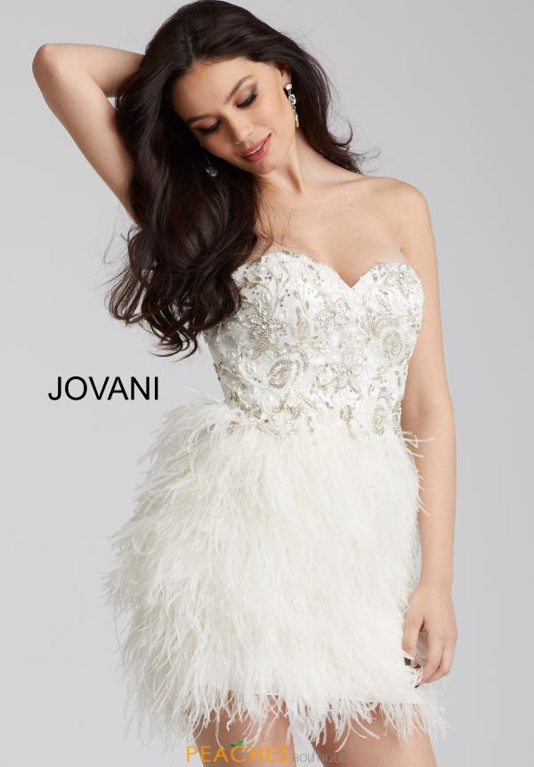 Jovani Cocktail Strapless Beaded Dress 50122