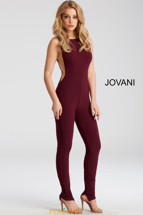 Jovani High Neckline Jumpsuit Dress 50905