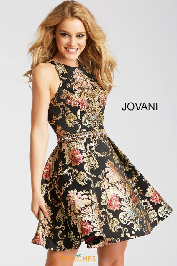 Jovani Cocktail Black Dress 51513