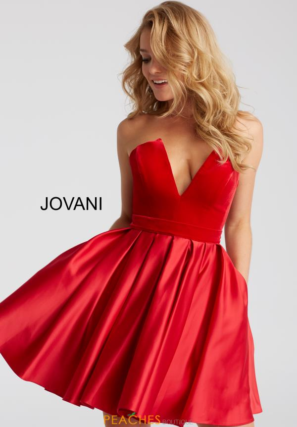 Jovani Cocktail A Line Dress 52108