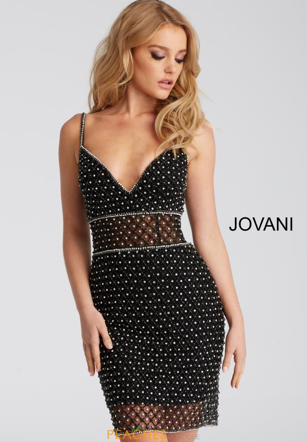 Jovani Cocktail Beaded Dress 52188