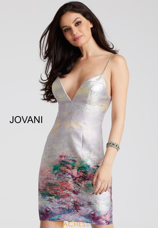 Jovani Cocktail Fitted Dress 52226