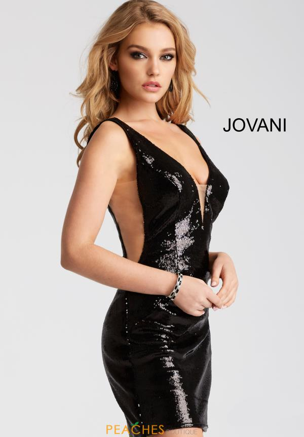 Jovani Cocktail Sequins Dress 52266