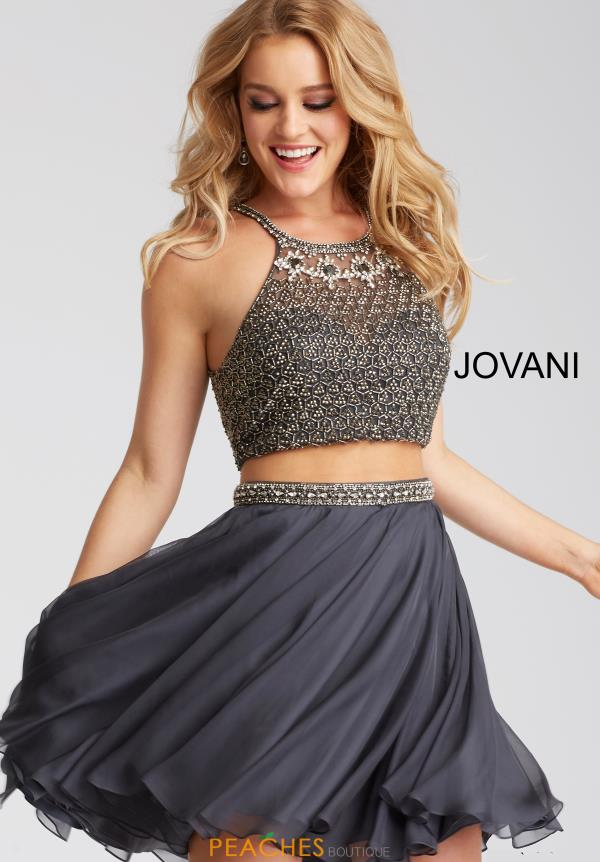 Jovani Cocktail Beaded Dress 53089
