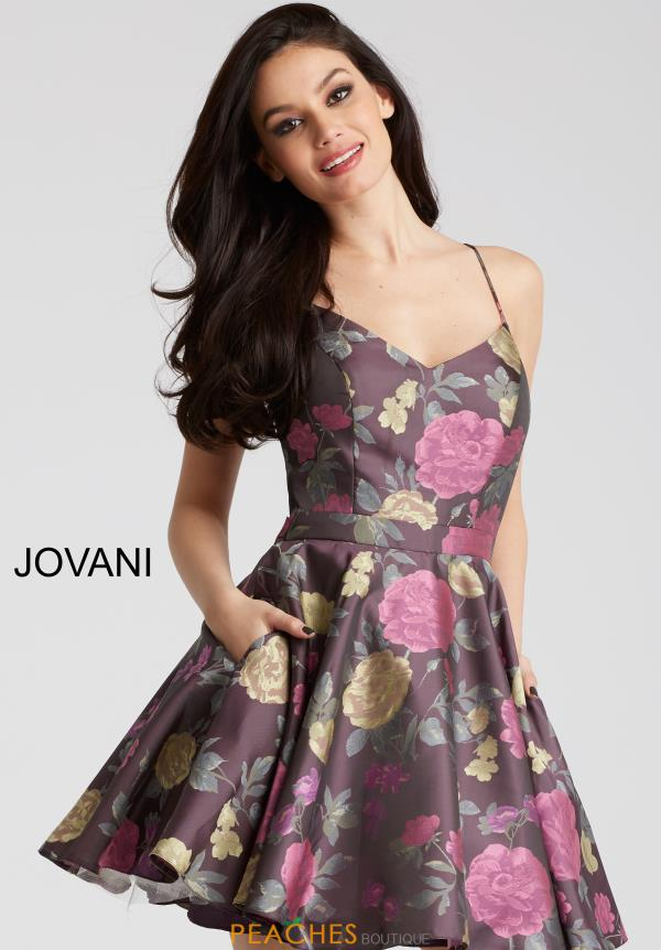 Jovani Cocktail A Line Dress 53201
