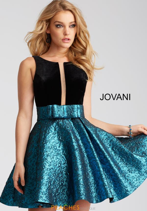 Jovani Cocktail A Line Dress 54521