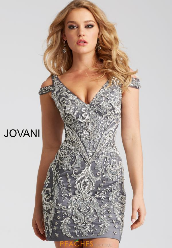 Jovani Cocktail Fitted Dress 54546