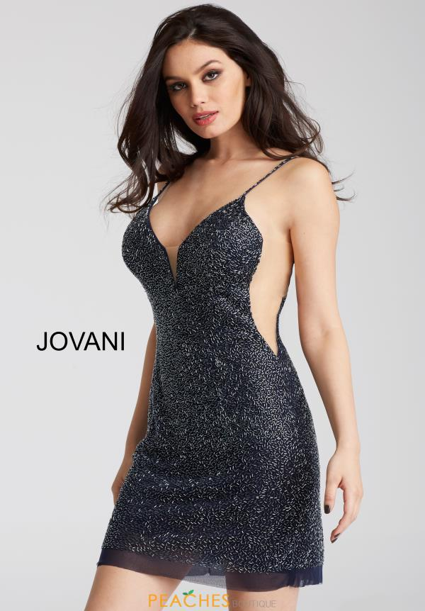 Jovani Cocktail Beaded Dress 58588