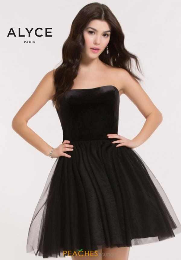 Alyce Short Black Dress 2634