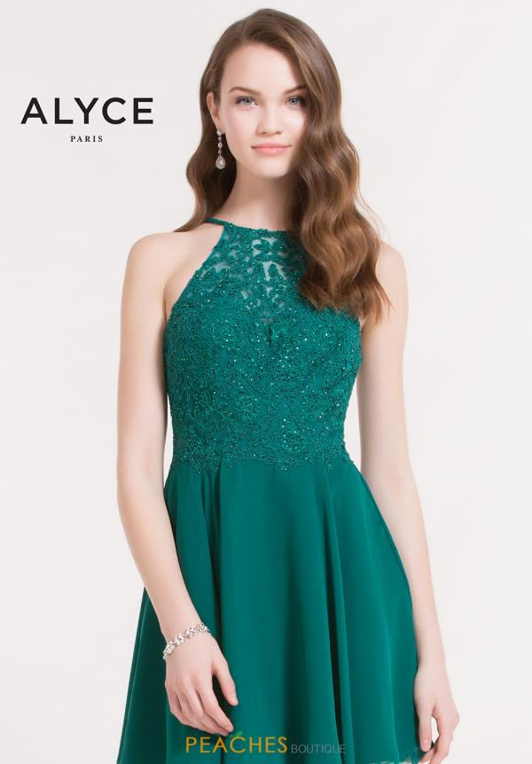 Alyce Short Lace Dress 3714