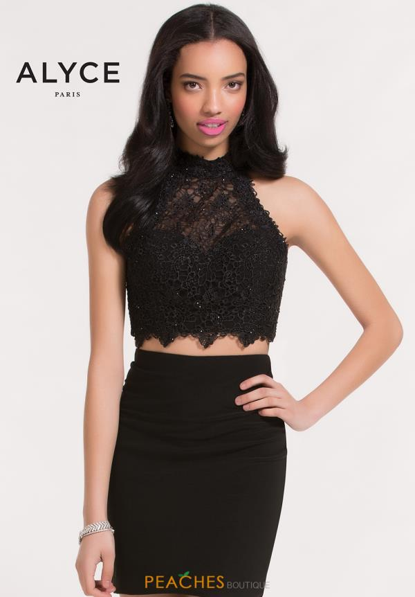 Alyce Short Lace Dress 4462