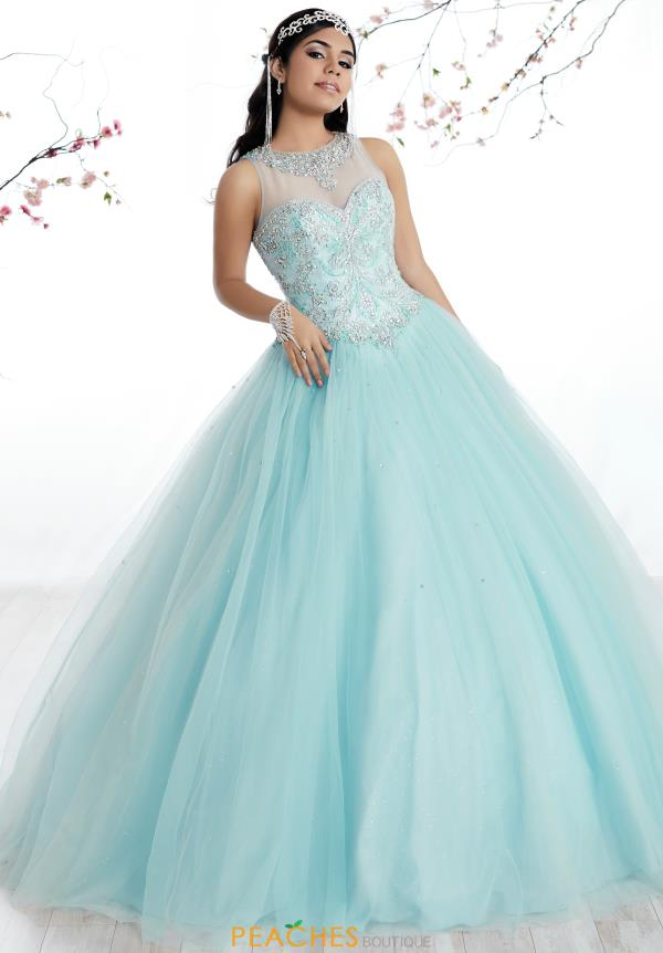 Tiffany Beaded Tulle Quinceanera Dress 56315