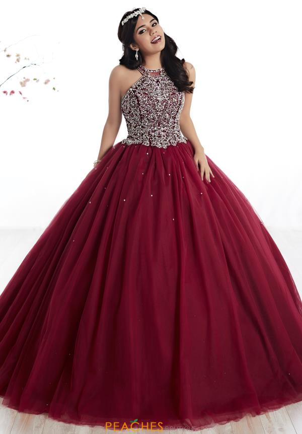 Tiffany Beaded Tulle Quinceanera Dress 56316