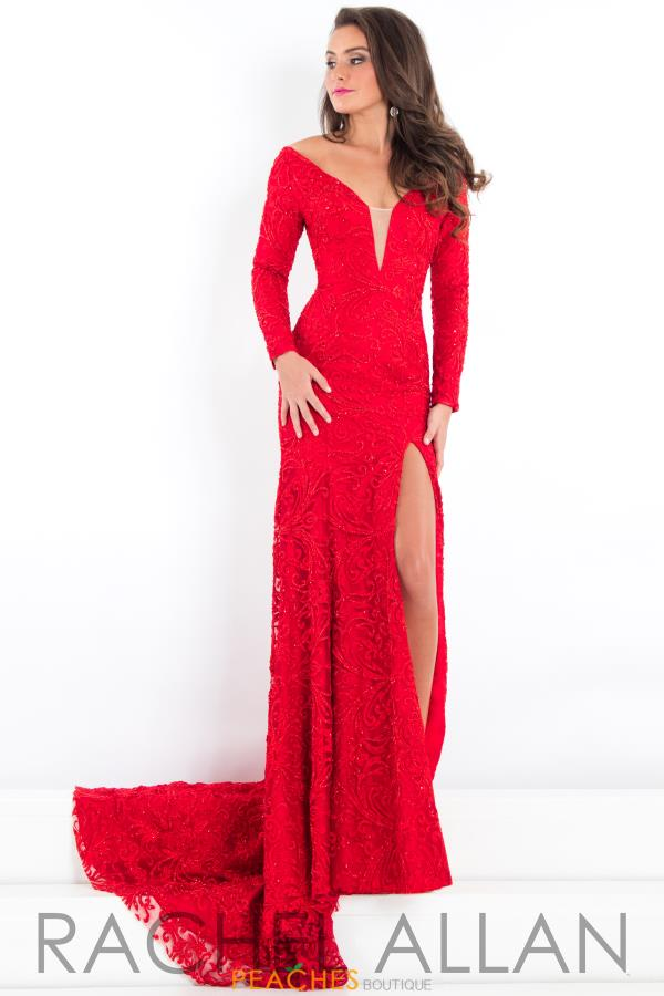 Prima Donna Pageant Long Sleeve Dress 5941