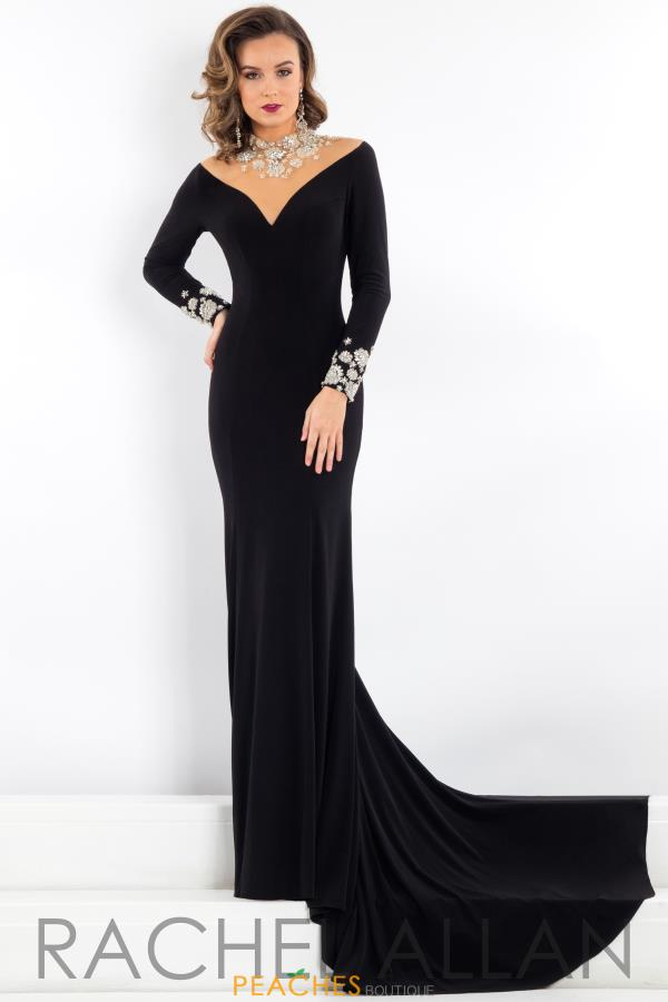 Prima Donna Pageant Long Sleeved Dress 5947