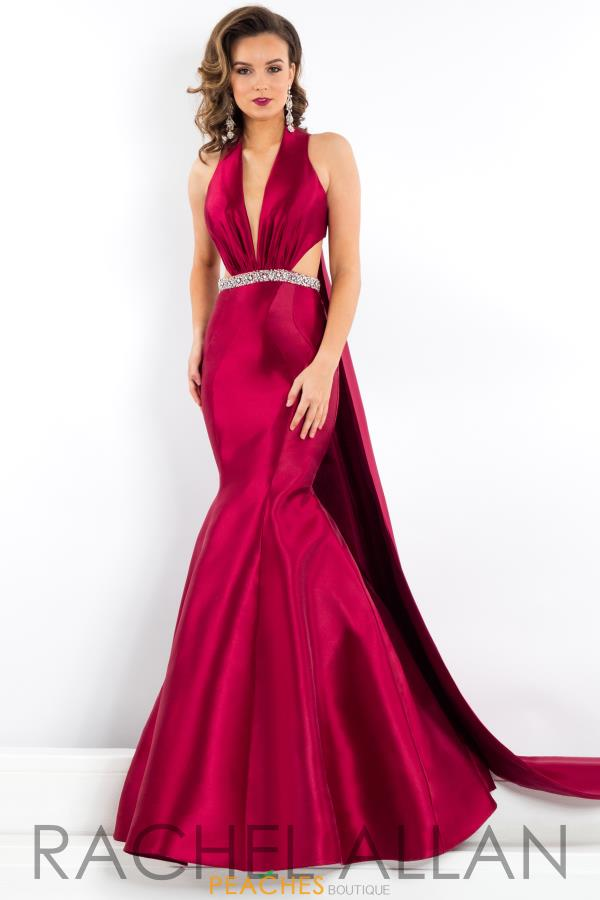 Prima Donna Pageant Fitted Long Dress 5951