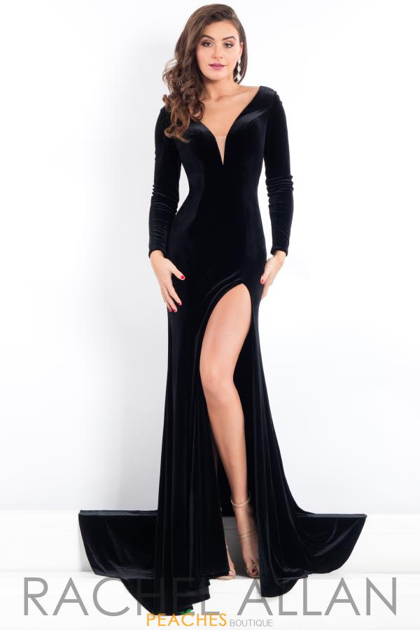 Prima Donna Pageant Fitted Long Dress 5968