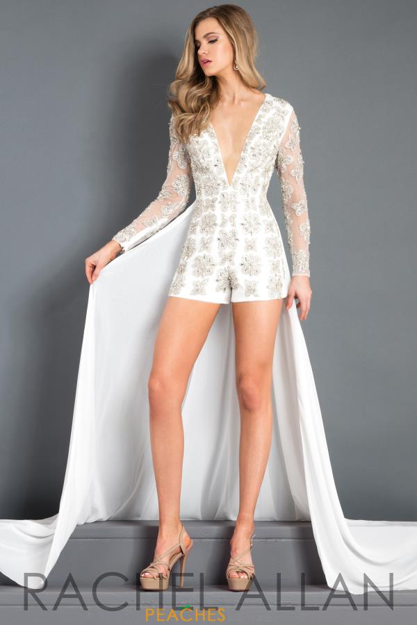 Prima Donna Pageant Sleeved Romper 5992
