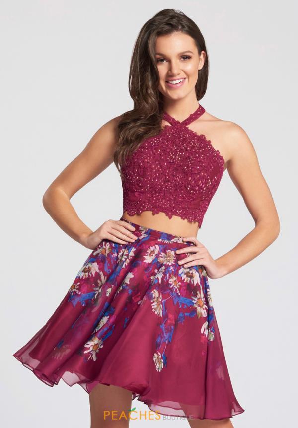 Fuschia colored cocktail dresses