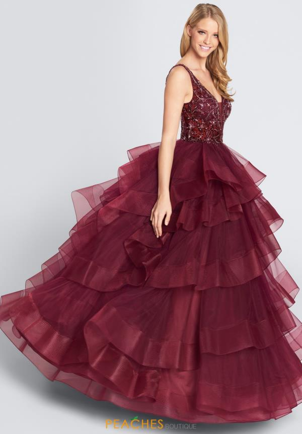 Ellie Wilde Prom Full Figured Tulle Dress EW21726