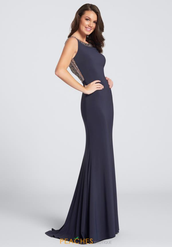 Ellie Wilde Prom Jersey Dress EW21736