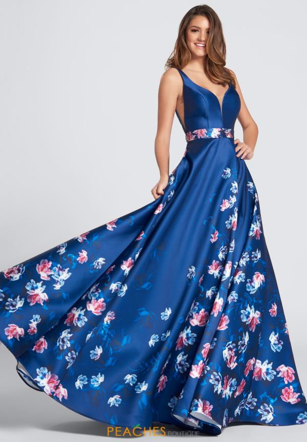 Ellie Wilde Prom A Line Dress Ew21745