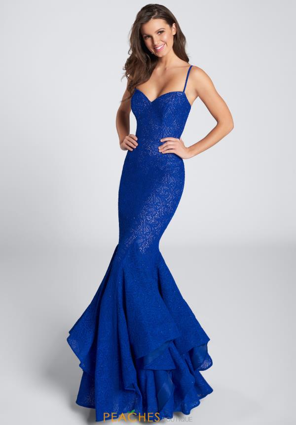 Ellie Wilde Prom Mermaid Dress EW21751