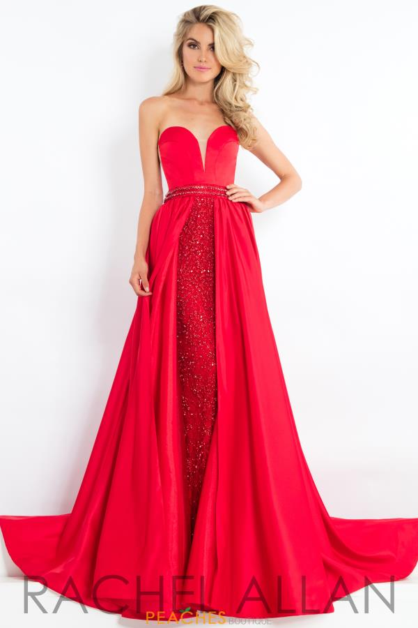 Prima Donna Pageant Strapless Dress 5983