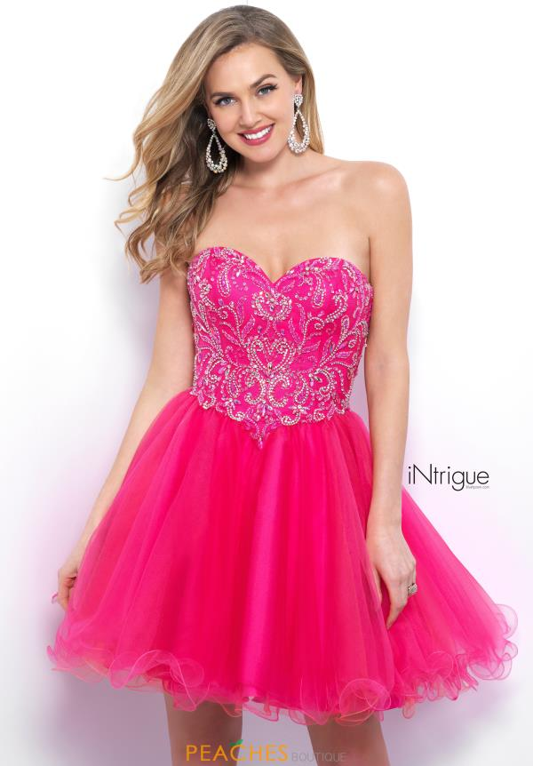 Intrigue by Blush Beaded A Line Dress 362